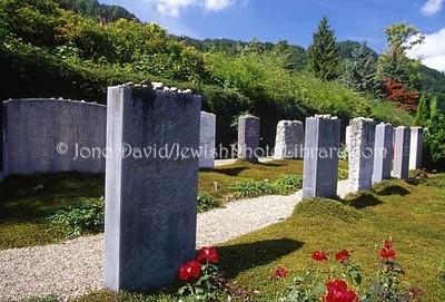 SWITZERLAND, Zurich. Neuer Judischer Friedhof (New Jewish Cemetery). (2006)