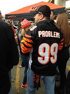Panthers @ Bengals 12 October 2014