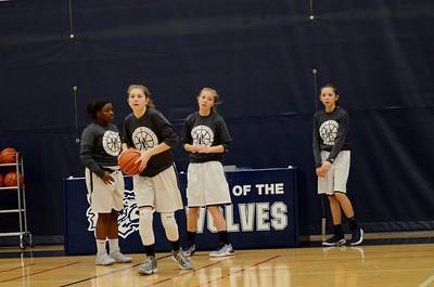 OE Girls  Freshman Basketball Vs Minooka 2016/17