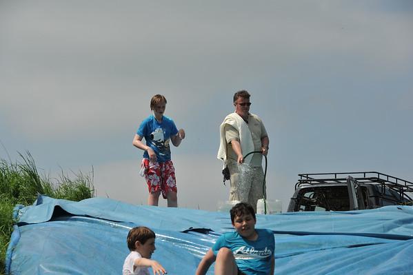 Lightning at Cubs Whitsun Camp 2012