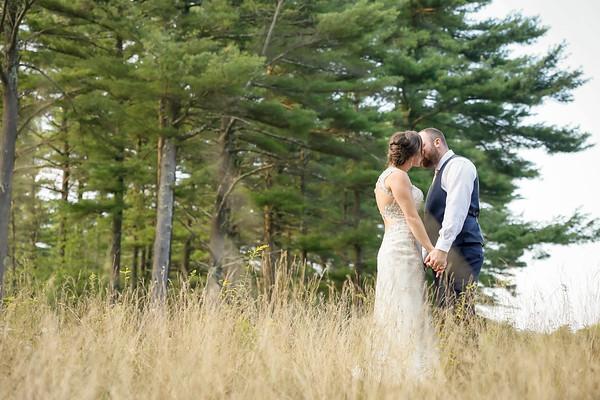 Meghan & Jay's Romantic Pine Hills Wedding