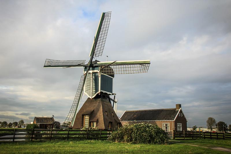 Dutch windmill house