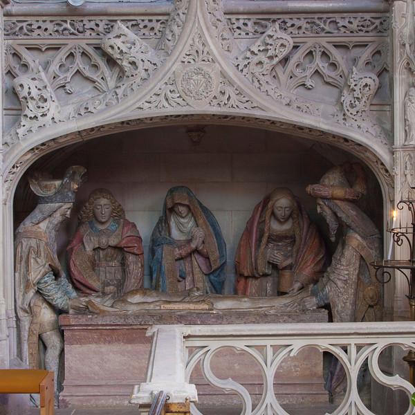 Neufchatel-en-Bray, Eglise Notre-Dame - The Entombment