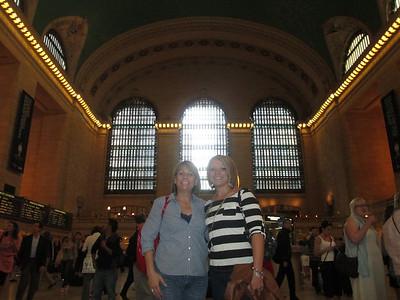 Tracey goes to NY, NY.