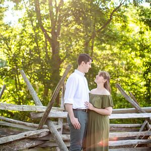 AJ & Christian's Engagement Portraits
