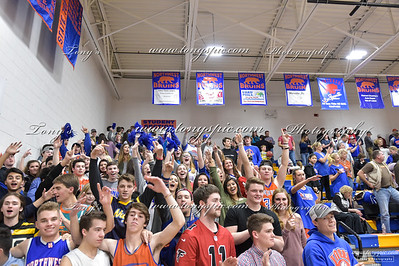Student Section @ Heritage  Game 26 Jan 2018
