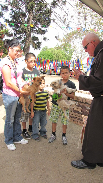 10-16-12 St. Francis Blessing of the Animals 2012