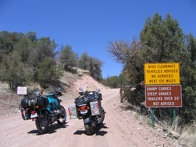 New Mexico Motorcycle Trip