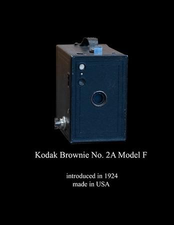 Kodak No 2A Brownie Model F