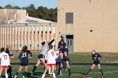 shs girls soccer vs RV 111820