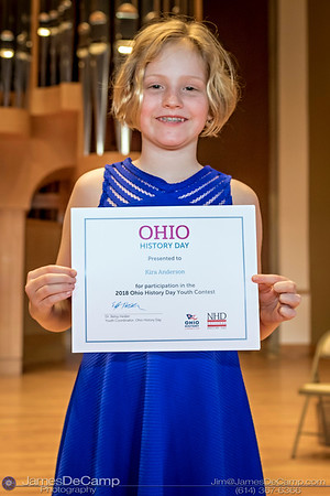 Ohio History Day - Awards