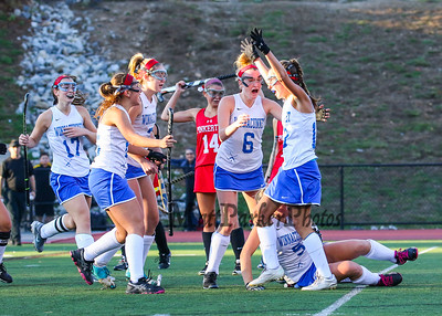 2015-11-1 WHS Girls Field Hockey vs Pinkerton Finals