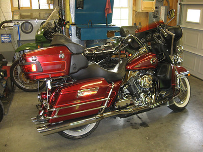 Danny Ferguson's Harley
