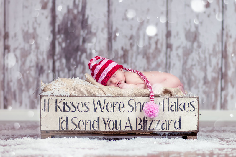If Kisses Were Snowflakes I'd Send You a Blizzard