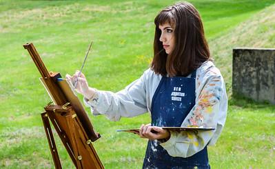 """""""Plein Air"""" Painting"""
