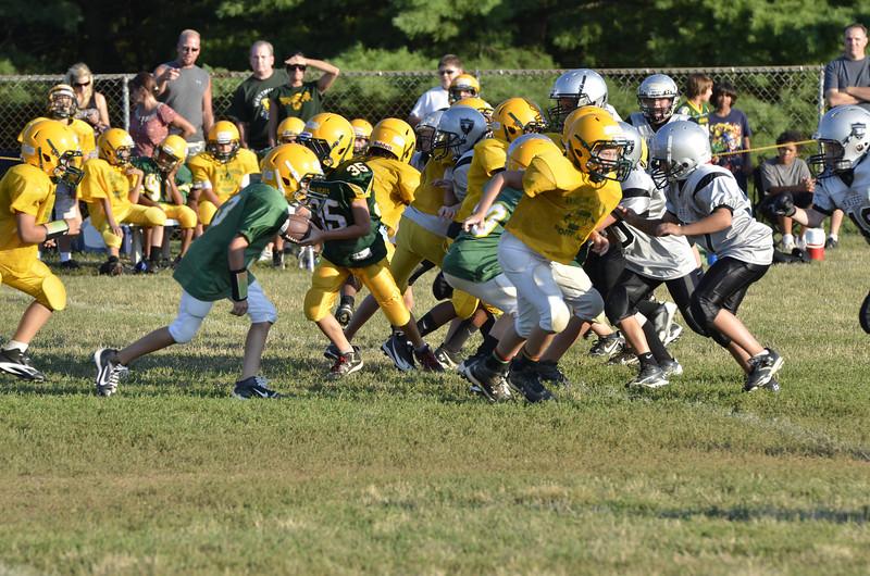 Wildcats vs Raiders Scrimmage 067.JPG