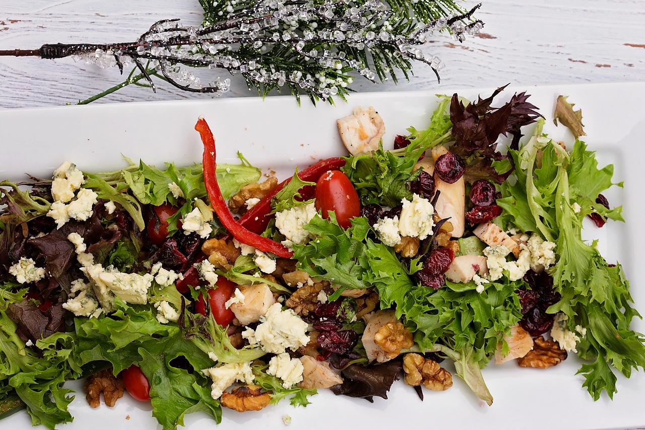 Christmas Cranberry Chicken Salad
