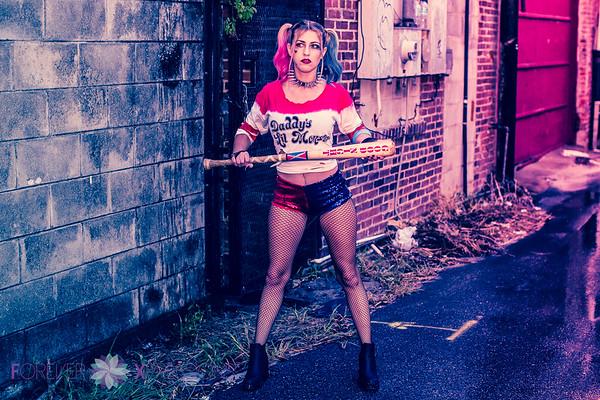Natasha Rose - Harley Quinn 8-9-2016