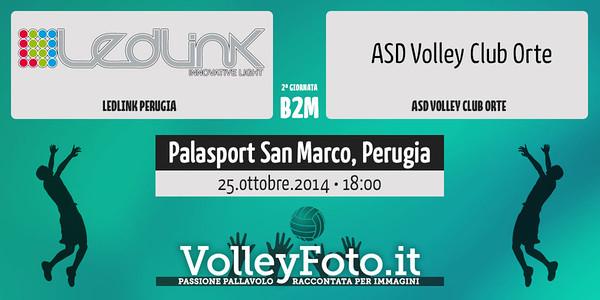 Ledlink Perugia - Volley Club Orte