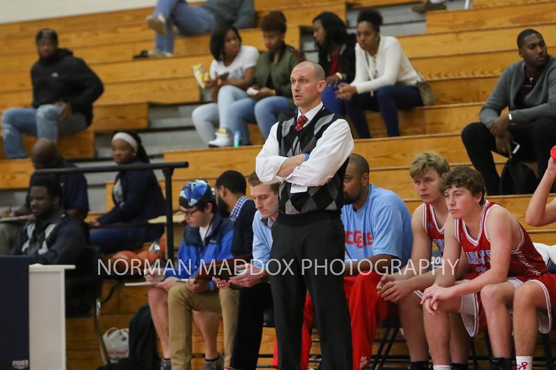 Charlotte Catholic Basketball Head Coach Mike King.