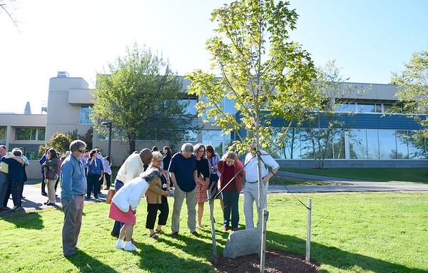 Dr. Charlie Kaminski Tree Dedication at BCC - 091619