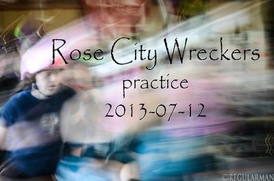 2013-07-12 RCR Wreckers practice