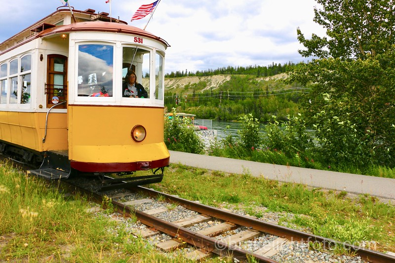 Whitehorse Waterfront Trolley