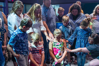 July 2019 New Members and Baptisms