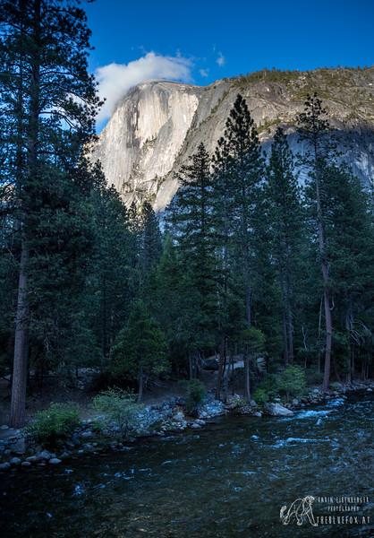 Half Dome - Little Yosemite Valley