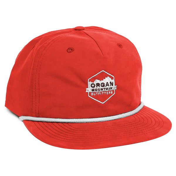 Outdoor Apparel - Organ Mountain Outfitters - Hat - Vintage Snapback - Red.jpg
