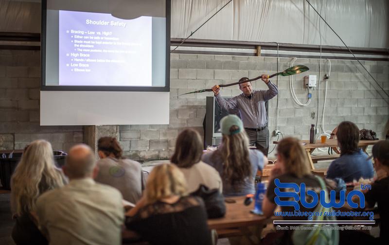 October 10th 2017 BWA General Club Meeting