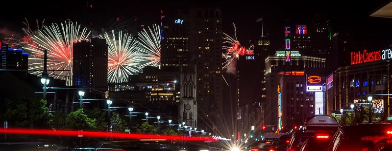 Detroit Fireworks, 2019