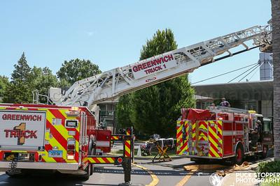 Apartment Fire - 1114 E Putnam Ave, Greenwich, CT - 7/4/20