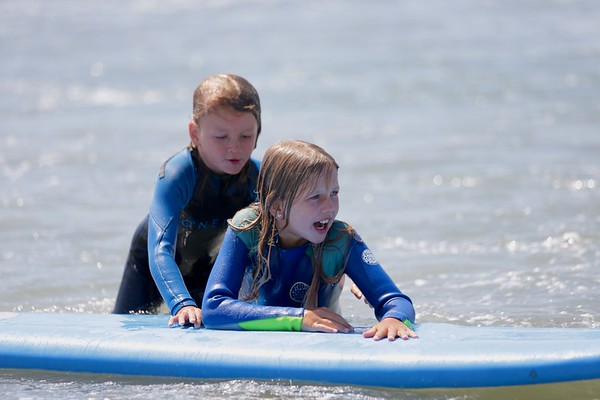 T & M Surfing Lesson Photos June 10, 2020