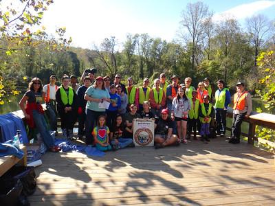 10.18.13 Tree Maintenance at Avalon Area of Patapsco State Park near Lost Lake