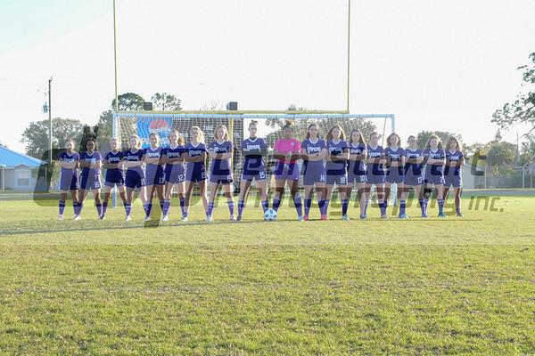 Varsity Girls Soccer 1.14.19