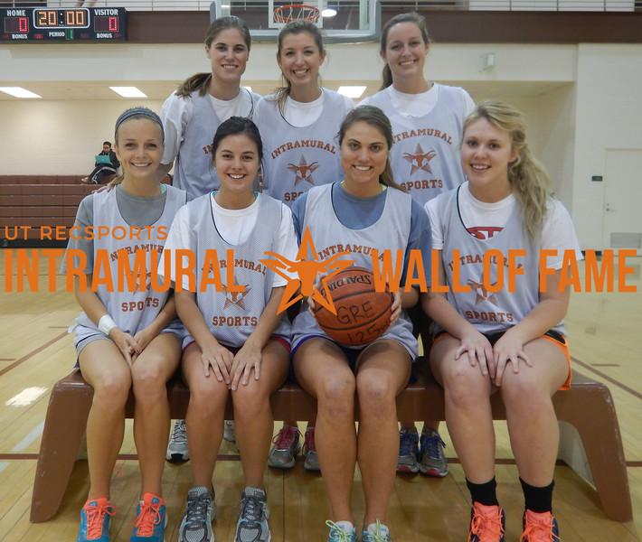 BASKETBALL Women's Champion  Twinstar  R1: Meredith Nagel,Sarah Stripling, Amanda Jungwirth, Sarah Reagor R2: Kirby McDaniel, Meghan Moreland, Kelly Wilson
