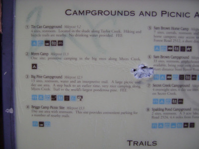Taylor Creek Map