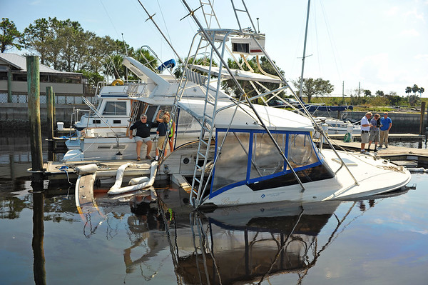 Bad to the Bone Salvage Amelia Island - Lighthouse Dive Services 09-20-17