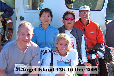 Angel Island 12K Run Dec. 10th 2005