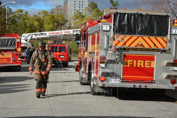 November 7, 2014 - Working Fire - 95 Wanstead Avenue