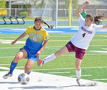 Lyons Township Soccer vs Morton