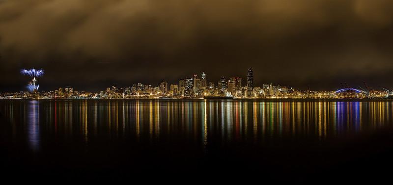 Seattle Skyline 2012