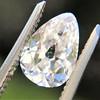2.49ctw Antique Pear Diamond Pair GIA E VS2/GIA D VS2 18