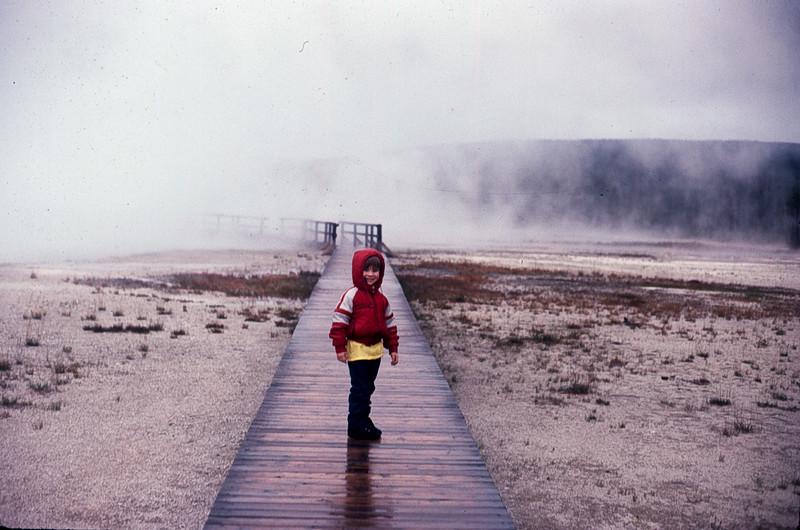 Jacob at Yellowstone National Park Wyoming 1980's