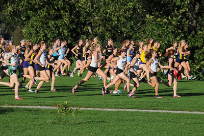 24 September 2010 Augustana Cross Country, Rock Island, Illinois