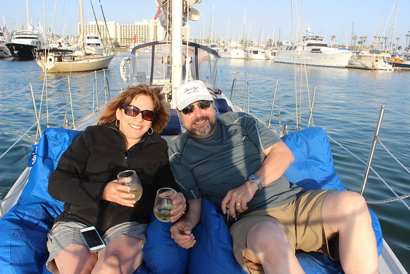 San Diego Boat Show, Balboa Park with Mike & Tish