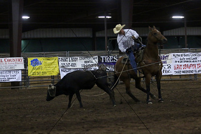 Friday County Team Roping
