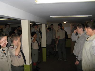 Troop Meeting - Nov 03