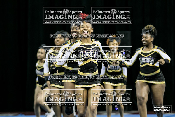 Lower Richland High School State Cheer 2018